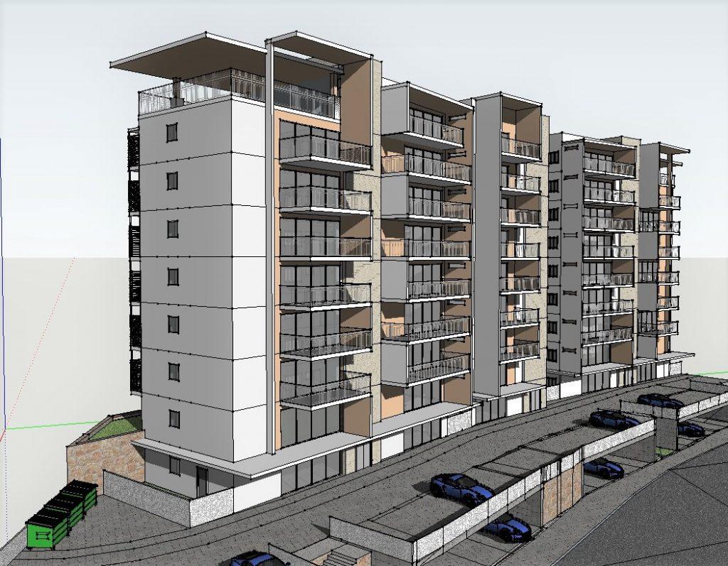 תכנון בניין מגורים בצפון