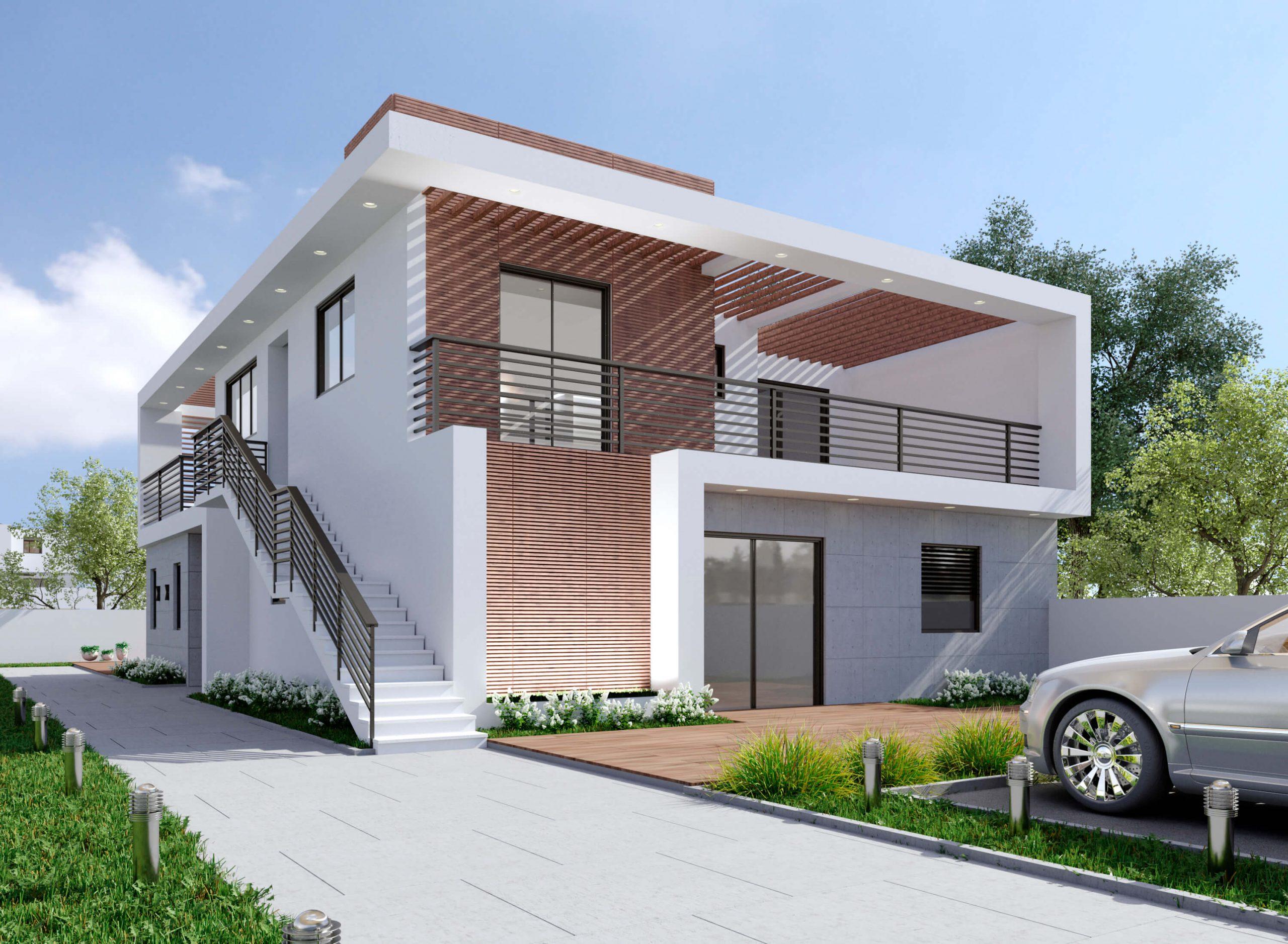 בית פרטי בסגנון מודרני